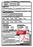 Formular zur Anmeldung zur Kernzeitbetreuung und Hausaufgabenbetreuung